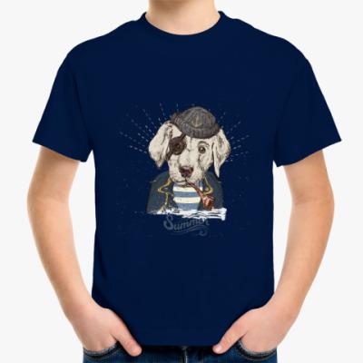 Детская футболка Пиратский собака