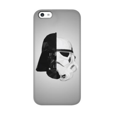 Чехол для iPhone 5c Star Wars: Вейдер и Штурмовик