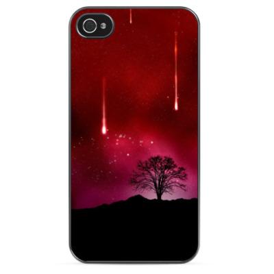 Чехол для iPhone Метеоритный дождь