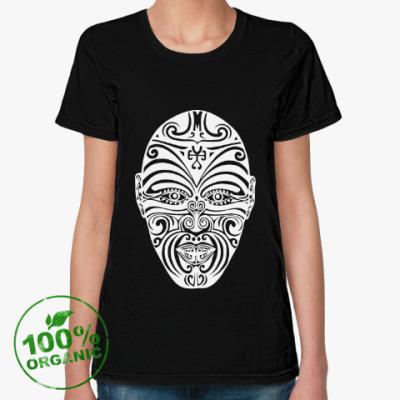 Женская футболка из органик-хлопка Маори