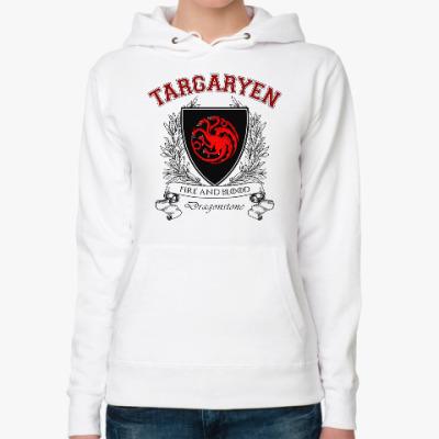 Женская толстовка худи House Targaryen