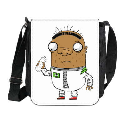 Сумка на плечо (мини-планшет) Шамиль-астронавт