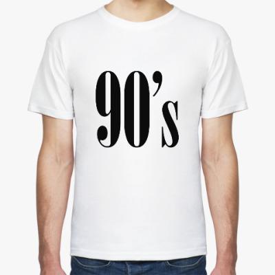 Футболка 90s