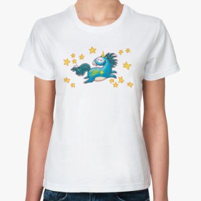 Классическая футболка Star Unicorn