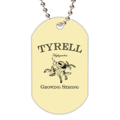 Жетон dog-tag Tyrell