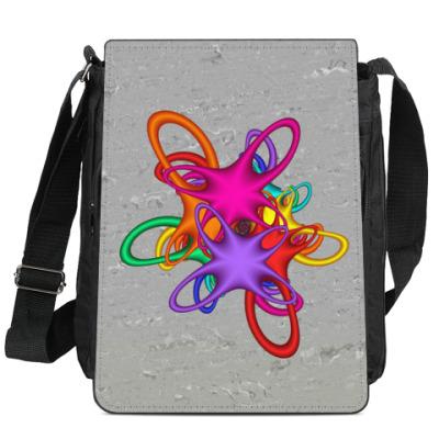 Сумка-планшет Цветной акцент