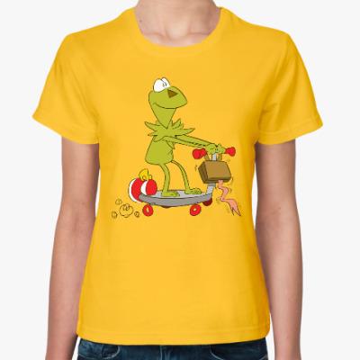 Женская футболка Kermit the Frog