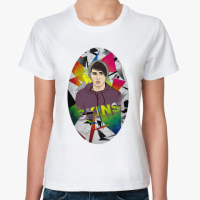 Классическая футболка Женская футболка ROMA SKINS