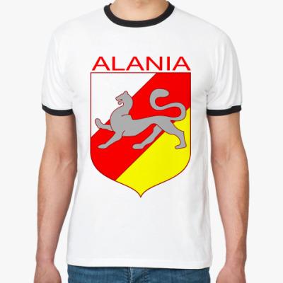 Футболка Ringer-T  Осетия, Алания