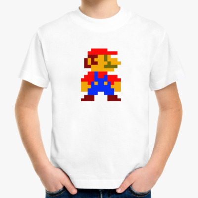 Детская футболка Марио