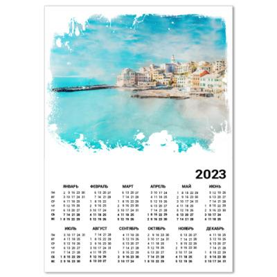 Календарь Средиземноморский пейзаж