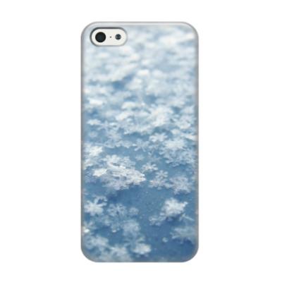 Чехол для iPhone 5/5s Снежинки