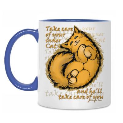 Кружка Береги своего внутреннего Кота