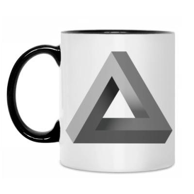 Кружка Невозможный Треугольник 3D