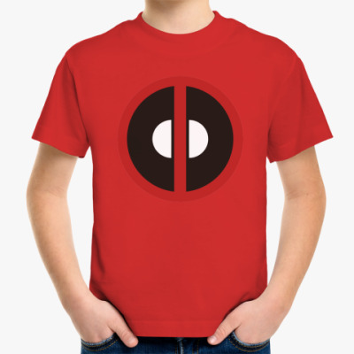 Детская футболка  Deadpool Дэдпул
