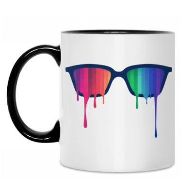 Кружка Хипстер: очки