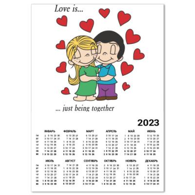 Календарь  LOVE IS