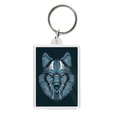 Брелок Волк