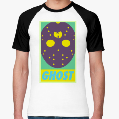 Футболка реглан  Ghost Wu tang