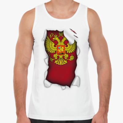Майка 'Герб России'