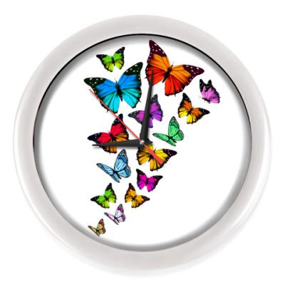 Настенные часы Бабочки