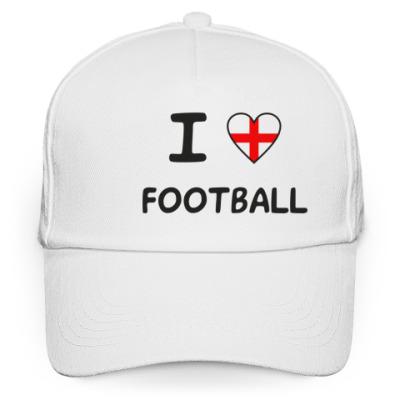 Кепка бейсболка Я люблю английский футбол