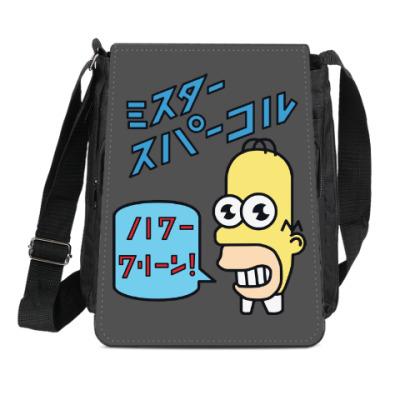 Сумка-планшет Симпсоны: Японский Гомер