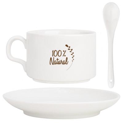 Кофейный набор 100 % Натуральный дизайн