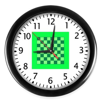 Настенные часы Шахматы