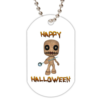 Жетон dog-tag Хеллоуин