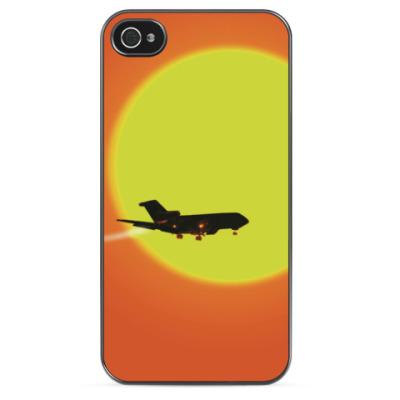 Чехол для iPhone Самолет летит