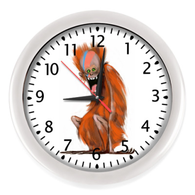 Настенные часы Огненная Обезьяна