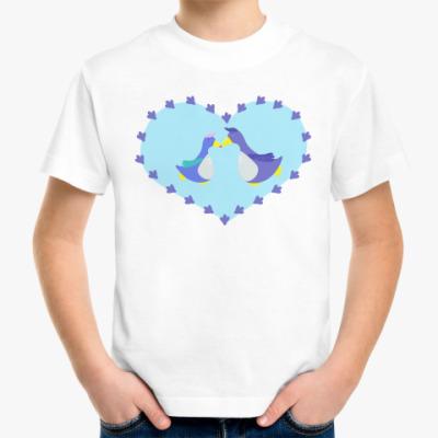 Детская футболка 'Пингвины'