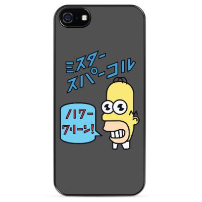 Чехол для iPhone Симпсоны: Японский Гомер