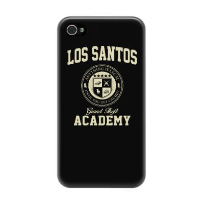 Чехол для iPhone 4/4s Los Santos Grand Theft Academy