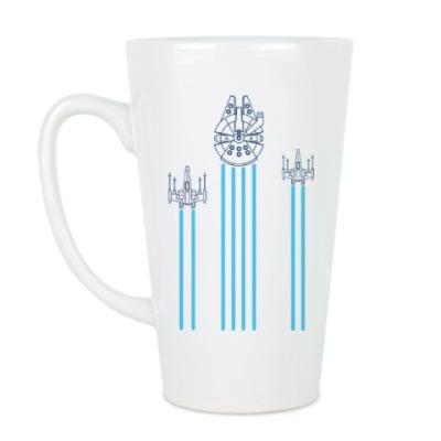 Чашка Латте звёздные войны (Star wars)