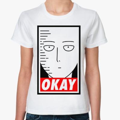 Классическая футболка Ванпанчмен