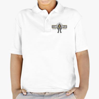 Детская рубашка поло Battlefield Titan Pilot