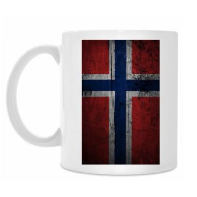 Кружка 'Норвежский флаг'