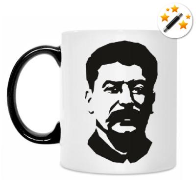 Кружка-хамелеон Иосиф Сталин