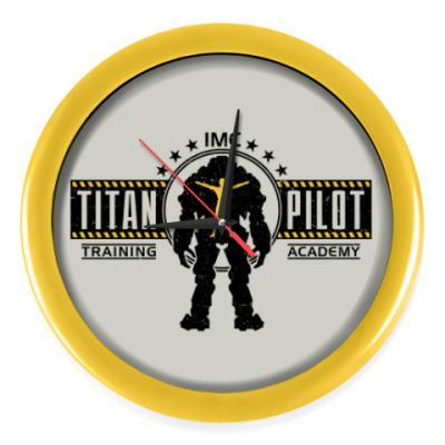 Настенные часы Battlefield Titan Pilot