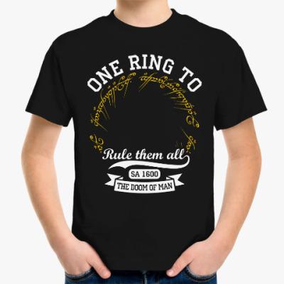Детская футболка Властелин колец