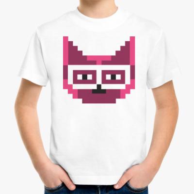 Детская футболка 8-bit Cat