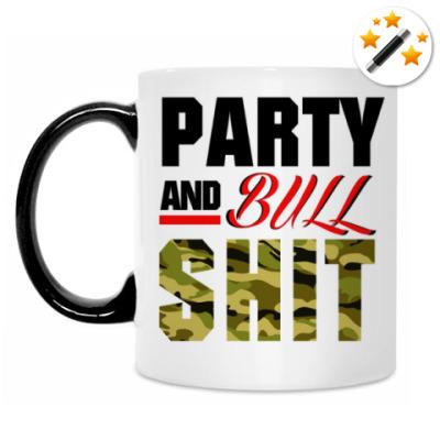 Кружка-хамелеон PARTY and BULLSHIT