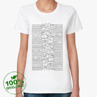 Женская футболка из органик-хлопка Cat Division