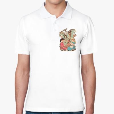 Рубашка поло Wonderland Alice and Chihiro