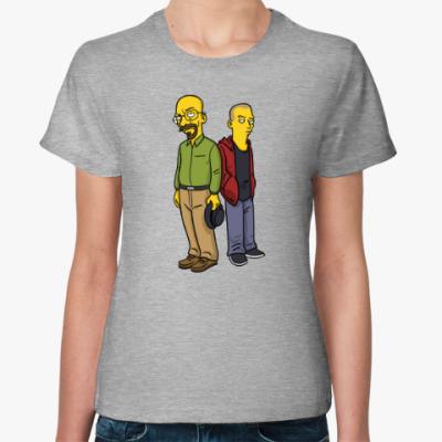 Женская футболка Breaking Bad Simpsons