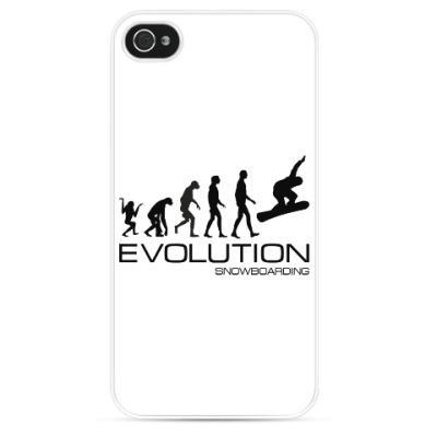 Чехол для iPhone Evolution snowboarding