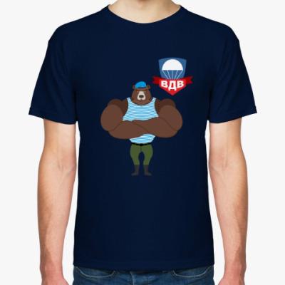 Футболка Медведь с знаком вдв