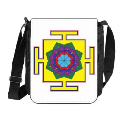 Сумка на плечо (мини-планшет) Вимана-янтра